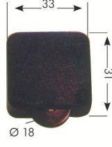 Interrupteur à roulettes pour spot halogène