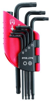 Jeu de 7 clés males Torx / Résitorx en étui - 89SR.J7PB