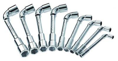 Jeu de 9 clés à pipe 6 x 6 pans - 75.J9PB