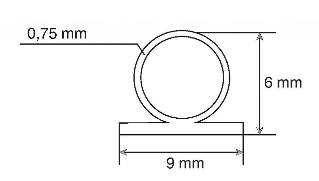 Joint silicone à agrapher ou à adhésiver