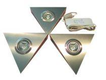 Kit Pyramide inox - 3 x 20 W /12 V