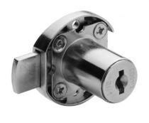 Kit serrure de porte 1 point - 2631 - acier nickélé