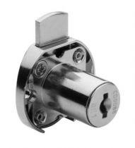 Kit serrure de tiroir 1 point - 2630 - acier nickélé