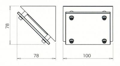 Kit zéro aluminium - 20 W/12 V