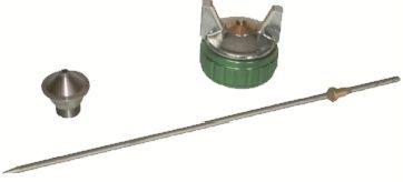 Kits réparation et pulvérisation pour pistolets à peinture kit buse et kit entretien pour LAC 016