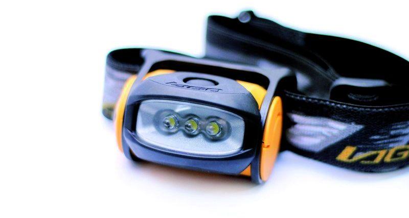 Lampes frontales boxer 300 - 3 leds - mono intensité
