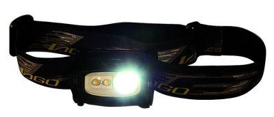 Lampes frontales boxer 850 - 1 led de puissance et 2 leds 5 mm