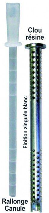 Longueur cheville 140 mm - ø 10 mm