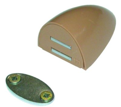 Loqueteau magnétique Loc\'Accord - ABS - cache vis clipsable