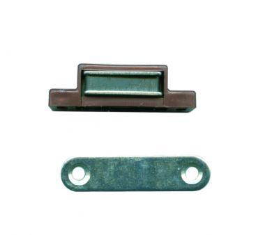 Loqueteau magnétique série Eco - avec contre-plaque