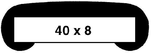 Main courante profil PVC