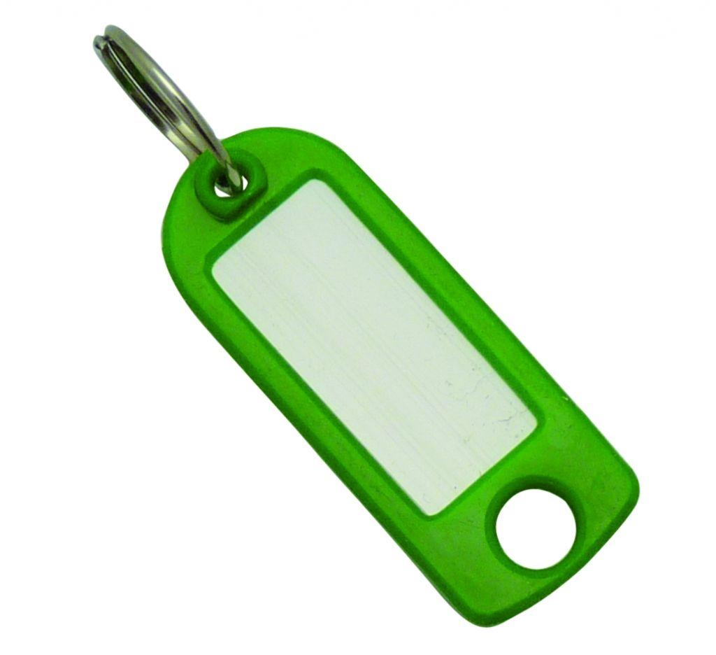 Ordonnancement Etiquette de clé plastique