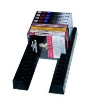 Paire de baguettes pour cassettes audio - Plastique noir