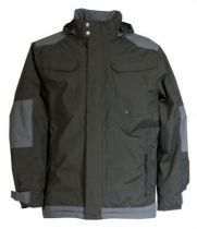 Parka Craft Worker - noir/gris