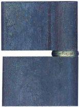 Paumelle à souder - Acier bleui au four - lame au centre