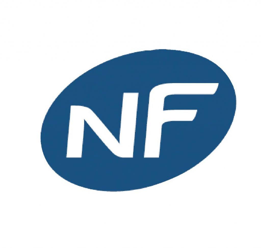 Paumelle réglable acier zingué avec fourreau blanc - NF