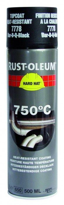 Peinture de finition haute température 750°C