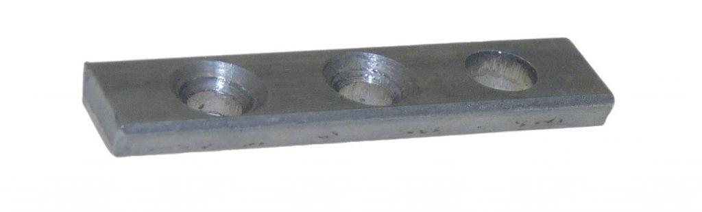 Pivot droit - acier brut