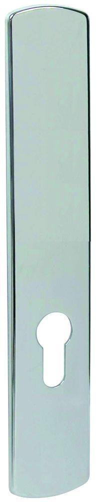 Plaque chromé miroir