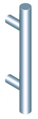 Poignée barreau inox 316 complète