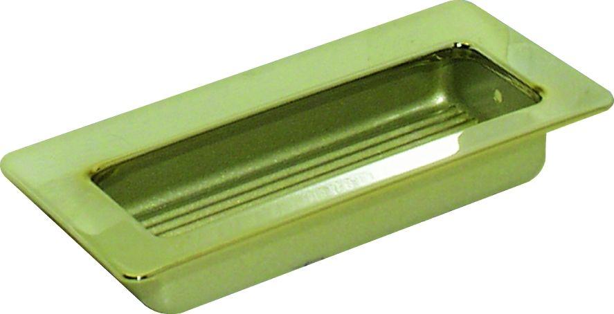 Poignée classique a encastrer - profondeur 10 mm