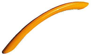 Poignée classique courbe zamack laquée ø 9 mm