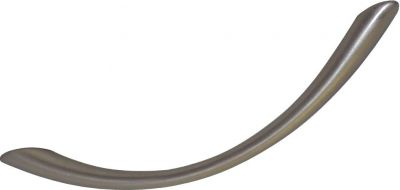 Poignée classique courbe zamack ø 5 mm - arc incliné