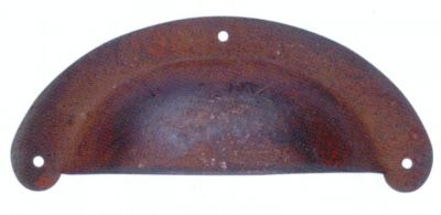 Poignée coquille acier