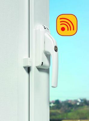 Poignée de fenêtre avec alarme - à clé FG 300 A