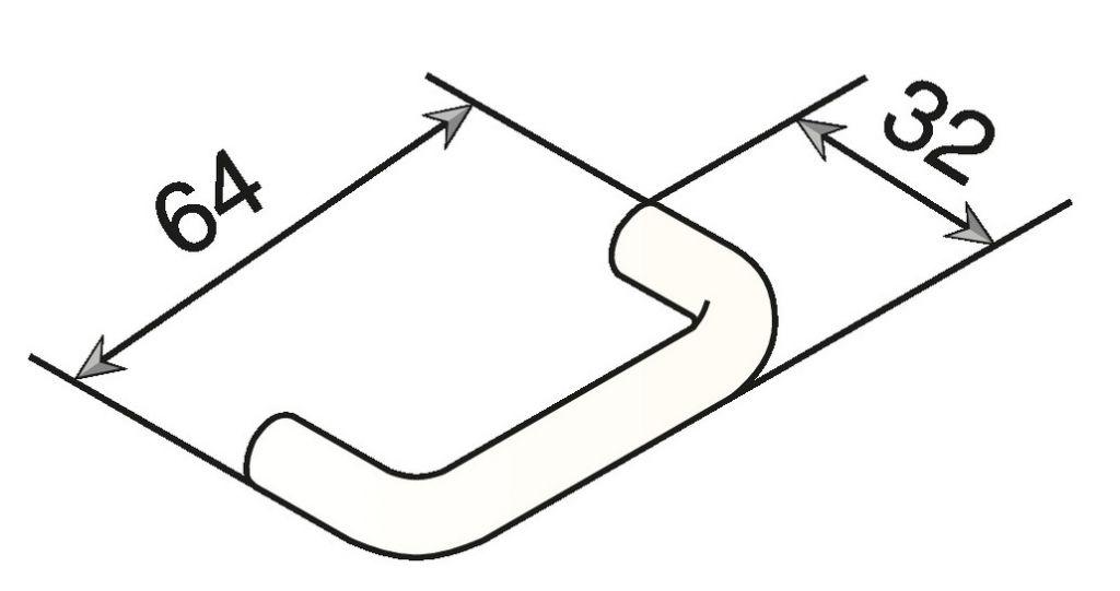 Poignée fil nylon ø 10 mm