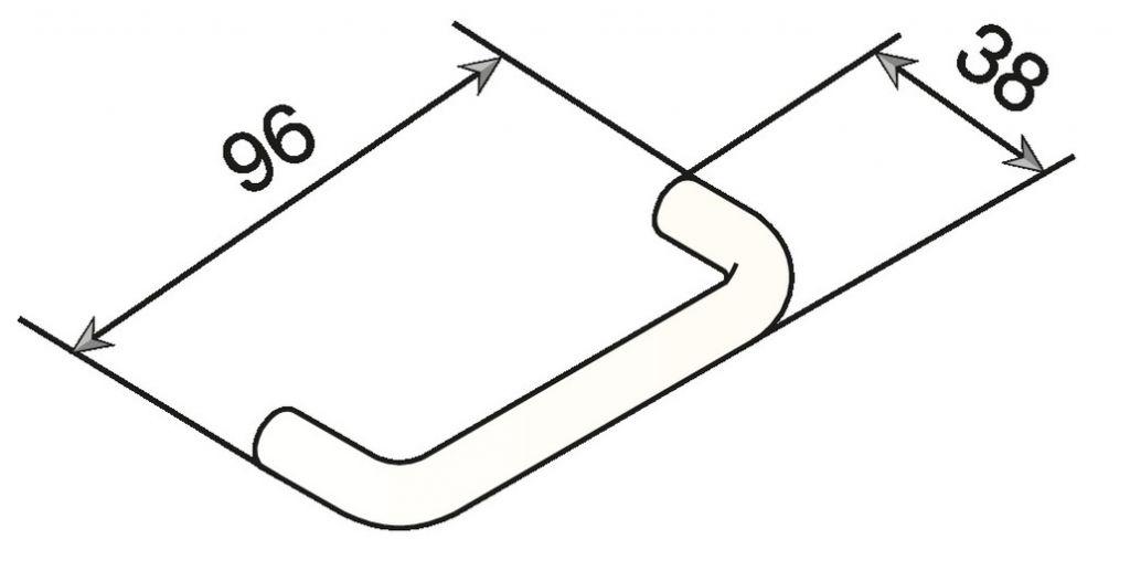 Poignée fil nylon ø 12 mm