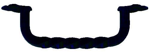 Poignée fil torsadée acier