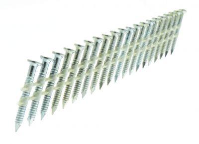 Pointes d\'ancrage annelées électro zinguée - pour cloueur MC 60-34