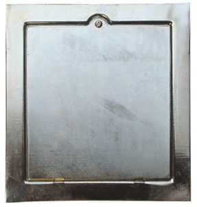 Porte de ramonage acier zingué