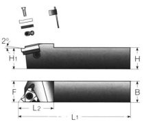 Porte-plaquettes (pls) de filetage