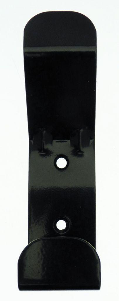 Porte vêtement seul acier époxy - 2 têtes
