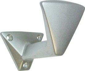 Porte vêtement seul aluminium anodisé