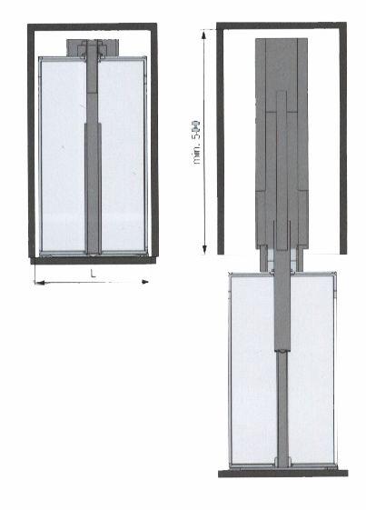 Pour caisson 300 et 400 mm (L)