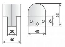 Pour châssis basculant - pivot à l\'unité