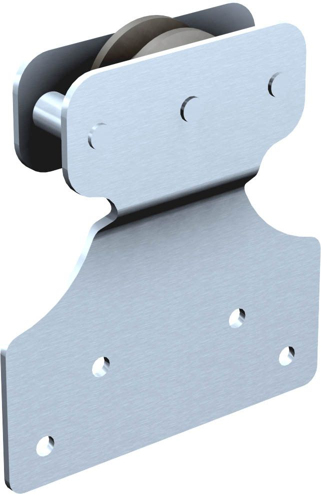 pour porte jusqu 39 4 kg porte d placement droit sur rail en fer plat. Black Bedroom Furniture Sets. Home Design Ideas