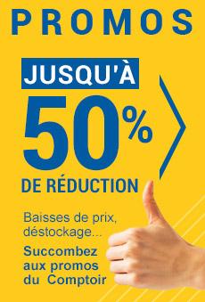 Promos Au comptoir de la quincaillerie jusqu'à 50% de réduction