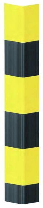 Protection d\'angle jaune et noire
