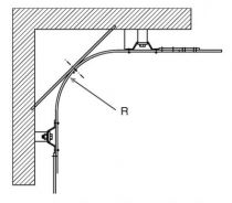 Rail courbe pour série Bob 50