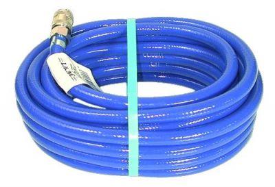 Rallonges de tuyau air comprimé PVC armé bleu