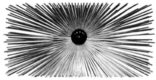Ramonage hérisson rectangulaire acier