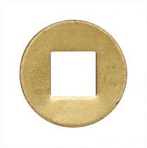 Rondelle acier trou carré