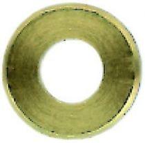 Rondelle plate ZU décolletée étroite avec chanfrein laiton NFE 25513