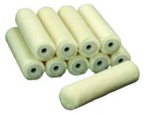 Rouleau laine : laques et vernis solvants