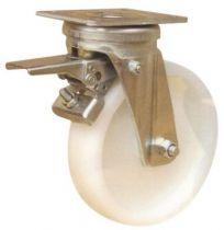 Roulette de manutention roue blanche - Fort - Roll