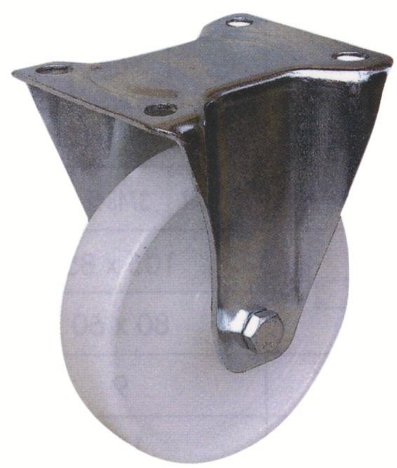 Roulette de manutention roue blanche - Manu - Roll